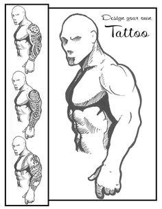 Tattoo Sleeve Template Hawaiian