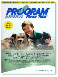 $45.50-$46.99 Program Flavor Tabs Dog & Cat Flea Control - Program Flavor Tabs Dog & Cat Flea ControlProgram Flavor Tabs contain lufenuron, an insect development inhibitor that prevents the development of immature stages of the flea.The most common of the canine parasites, fleas create problems for both pets and humans because they multiply so quickly. The fleas on your dog are in the adult stage ...
