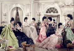 oscar de la renta fashion editorial | Tagged with Du Juan, Liu Wen, Grace Coddington, and Oscar de la Renta ...