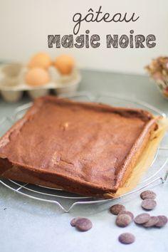 Gâteau Magie Noire au chocolat léger, sans gluten, sans lactose.