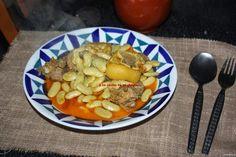 La cocina de mi abuelo: Receta: Fabas verdes de Lourenzá con carne