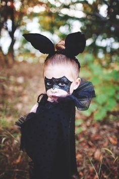 Make bat costume yourself - Halloween Costumes
