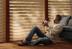 Cortinas motorizadas Silhouette ® - Hunter Douglas
