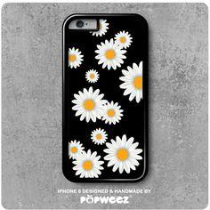 Coque iPhone 6 Fleurs Marguerites Pâquerettes  Envoi par POPWEEZ
