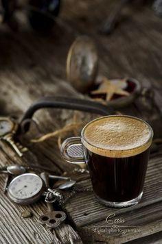 Mmmmm coffee - and coffee art!