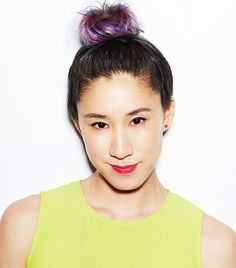 #Topknot Perfection: Styled by #Fekkai, Modeled by #EvaChen