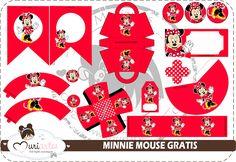 Minnie en Rojo: Kit para Imprimir Gratis.