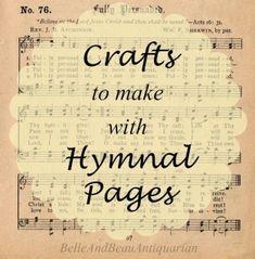Sheet Music Crafts, Sheet Music Art, Music Paper, Vintage Sheet Music, Music Music, Old Book Crafts, Book Page Crafts, Paper Crafts, Book Page Art