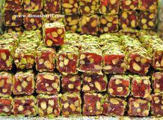 Pomegranate and pistachio Turkish Turkish Delight – Dima Al Sharif