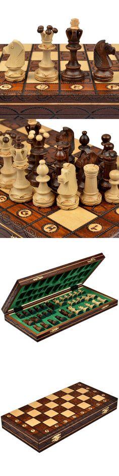 Spiele 11.81 x 1.97-Inch Chess Royal 30 European Wooden Handmade International Set