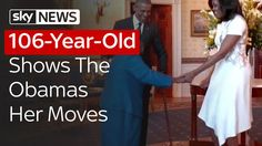 The Obamas Share A Dance With 106-Year-Old
