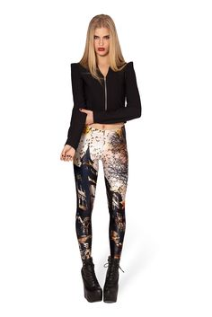 L Haunted House 2.0 Leggings – Discontinued/museum