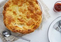 Once you try this meat pie you will never want to buy another. Very yummy.