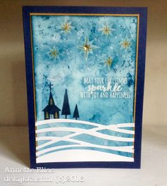 De Kijkkast: Inktig kerstkaartje.. met Be Jolly, By Golly D-INKT!-sdag#28