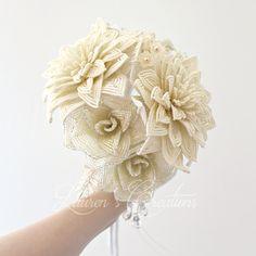 Home Page for designer Lauren Harpster's handmade French Beaded Flowers.