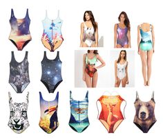 ME & THE MERMAID: DIGITAL PRINT SWIMSUITS