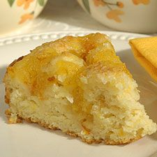 Creamy orange scones (King Aurthur) Unlike most scones, these require no rolling or shaping; simply dollop batter into a cake pan, top with marmalade and sparkling sugar, bake, and cut into wedges.