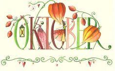 """October"" illustration de Nina Chen, artiste allemande."