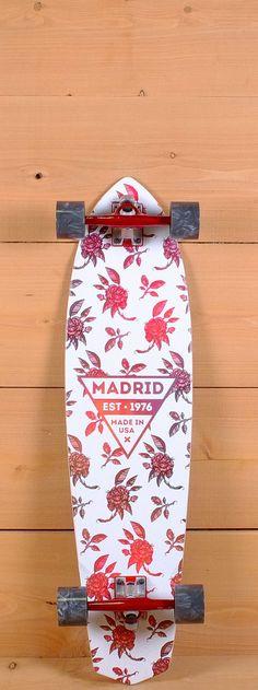 "Madrid Prebuilt 36"" Dude Rosa Longboard"