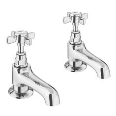 Shop the Regent Traditional Basin Taps online. Features a timeless crosshead design which is ideal for period bathrooms. Now at Victorian Plumbing.