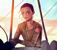 Rey, a ray of hope for the galaxy Whether you are fan of SW or not, I'm sure you know this character. I personally enjoyed The Force Awakens quite a lot and likewise, a new cast of characters, espe. Use The Force Luke, The Force Is Strong, Rey Star Wars, Star Wars Fan Art, Disney Eras, Darth Vader And Son, Star War 3, Love Stars, Reylo