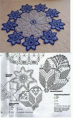 This Pin was discovered by Ron Filet Crochet, Crochet Doily Patterns, Thread Crochet, Irish Crochet, Crochet Stitches, Crochet Table Runner, Crochet Tablecloth, Crochet Dollies, Crochet Flowers