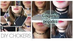 DIY- Chokers o collares pegados / Nerea Iglesias
