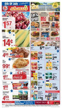 Shaws Circular June 30 - July 6, 2017 - http://www.olcatalog.com/grocery/shaws-circular.html