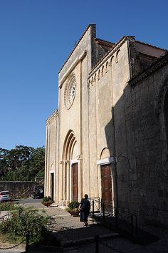 Tarquinia - Kerk van Sint Franciscus.
