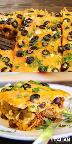 Our Mexican Lasagna recipe is made with layer upon layer of spectacular southoftheborder flavors A drool worthy dish with just enough heat to wake up your taste buds, you will surely beat the picky palates in your house with this fabulous casserole - p Easy Casserole Recipes, Easy Dinner Recipes, Taco Bake Casserole, Taco Casserole With Tortillas, Mexican Lasagna With Tortillas, Mexican Tortilla Casserole, Easy Enchilada Casserole, Healthy Mexican Casserole, Chili Relleno Casserole