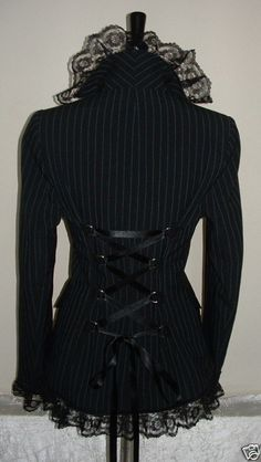 yup gotta hit the stores and find a pin striped jacket and then ad the other stuff. too cute