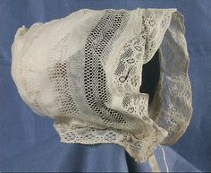 Bonnet for Kate. Want to show her as more conservative by completely covered from head to toe