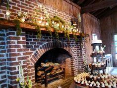 Fireplace cotton dock