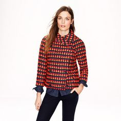 Collection neon tweed jacket - AllProducts - nullsale - J.Crew