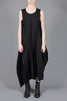 raw seams dress - RUNDHOLZ - Layers London