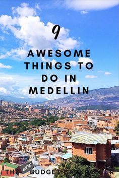 With a violent past and hopeful future Medellin is one of those cities you fall in love with. So here's all the things to do in Medellin Colombia. // Medellin Colombia Travel / What to do in Medellin Colombia / Best things to do in Medellin / Medellin travel / Top things to do in Medellin / Travel Medellin Colombia / fun things to do in Medellin