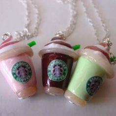 Starbucks Pendants from etsy.com