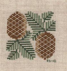 Bride's Tree SAL: pinecone Prairie Schooler