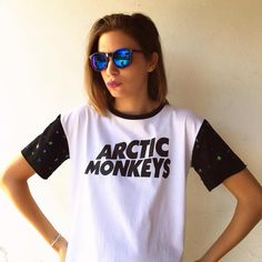 LYIU INDUMENTARIA - Arctic monkeys Tee -Fashion Brand based in Buenos Aires, Argentina Follow us on Instagram @lyiuclothes