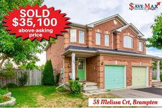 Pleased to announce the successful sale of this 3 Bedroom premium lot on 58 Melissa Crt exactly $35,1000 above-asking price in 3 days only! #JustSold Save Max Real Estate - Google+