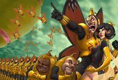 The Venture Bros. - The Monarch & Dr. Girlfriend - The Mighty by Quirkilicious - deviantart.com