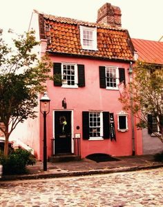 the perfect little cottage.    -Charleston SC