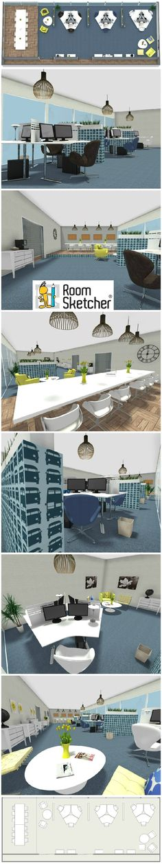 office layout design online. Plan And Visualize Your Office Design Online - In 3D! With RoomSketcher Pro You Can Layout
