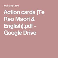 Action cards (Te Reo Maori & English).pdf - Google Drive