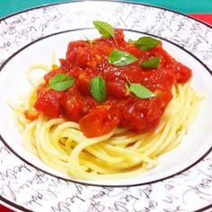 espaguete à arrabiata
