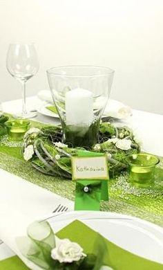 Tischdeko grün und weiß, gleich die Tischdekoration mit unserer 360° Ansicht nachbasteln: http://www.trendmarkt24.de/dekoartikel.tischdeko.tischdeko-nach-farben.tischdeko-gruen.tischdeko-gruen-weiss.tischdeko-gruen-weiss-fest.html#p
