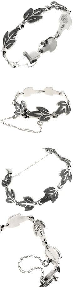 Bracelets 98489: Vintage Design 950 Sterling Silver Bracelet | Rodriguez Margot De Taxco Mexico -> BUY IT NOW ONLY: $149.95 on eBay!