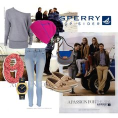 """""""Take a Road Trip Down the Coast With Sperry Top-Sider"""" by lopez-cres on Polyvore"""