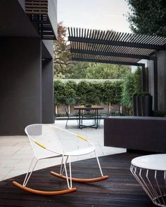 Modern Metal Idea Inspiration Patio Roof Designs Diy Pergola, Wooden Pergola, Outdoor Pergola, Outdoor Rooms, Outdoor Gardens, Outdoor Living, Outdoor Decor, Pergola Ideas, Pergola Lighting