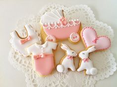 cute little baby shower cookies